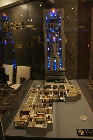 Banyan Tree Bangkok:                   макет отеля