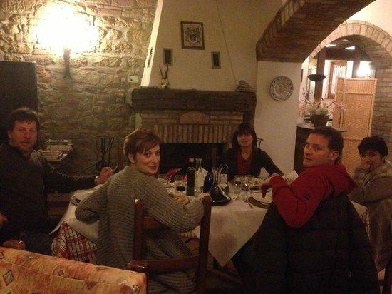 Palazzo Bandino:                                     sala pranzo