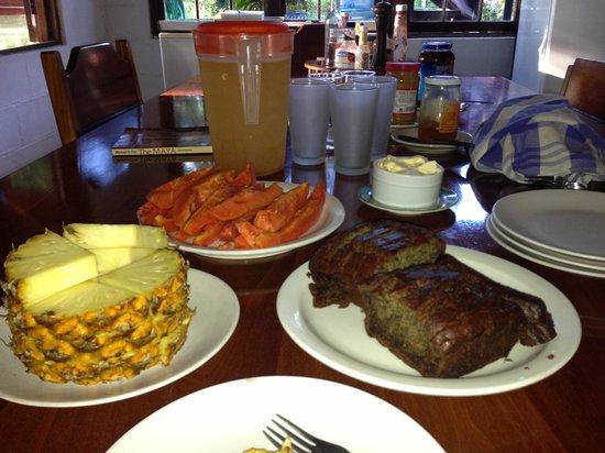 Breakfast at Savanna Guest House