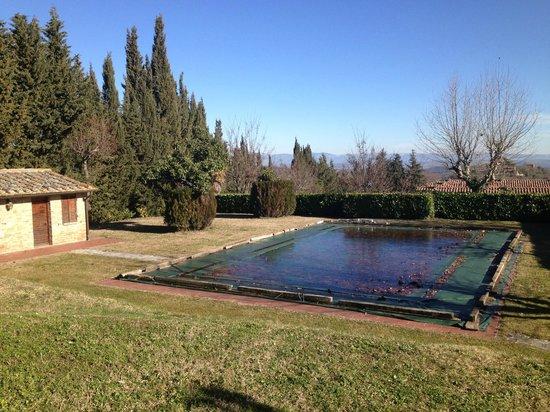 Palazzo Bandino:                                     piscina esterna