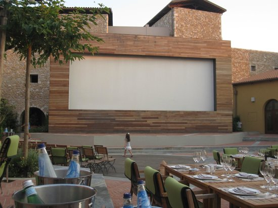 The Westin Resort, Costa Navarino:                   Video Wall