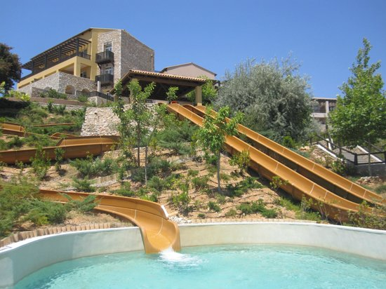 The Westin Resort Costa Navarino:                   water slides park