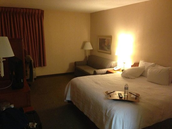 Hampton Inn Burlington/Mt. Holly:                   Standard King Room