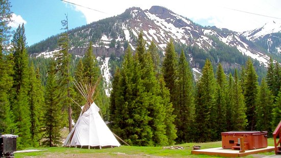 Cooke City High Country Motel : tipi