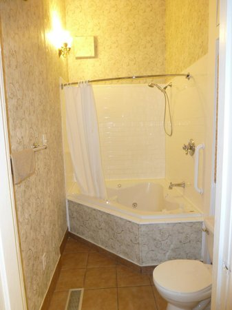 Violet Hill Bed and Breakfast: Prince Haithcoat Suite Jacuzzi