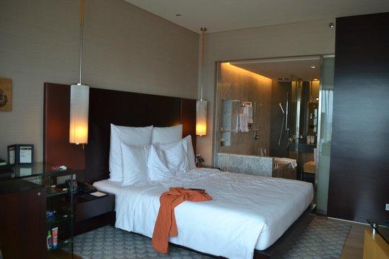 Hilton Kuala Lumpur:                   Chambre avec vue sur le lac