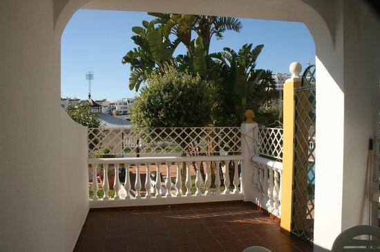 Apartamentos Las Rosas de Capistrano:                   View from ground floor apartment