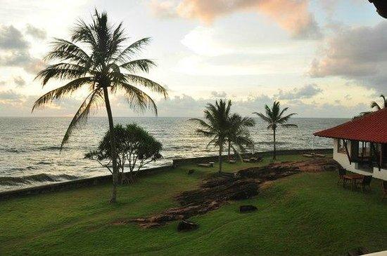 Saman Villas:                   вид из номера , океан