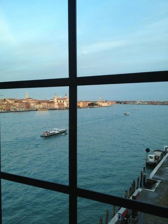 Hilton Molino Stucky Venice Hotel:                   Tower Suite view to San Marco