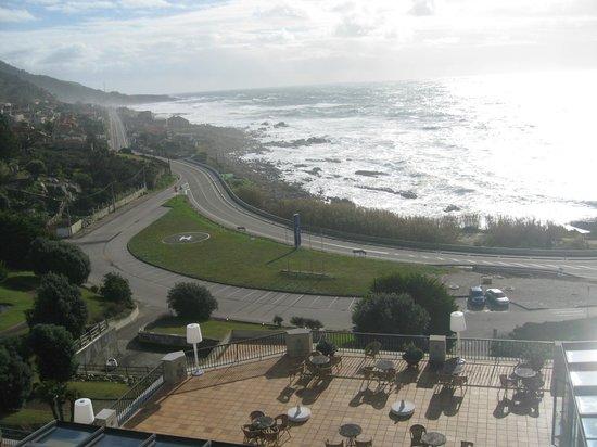 Talaso Atlantico:                   Desde el balcón de la habitación