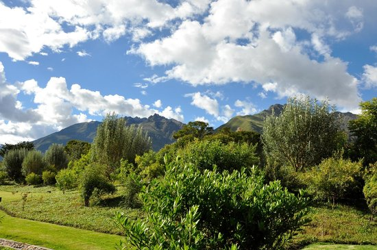 Tambo del Inka, A Luxury Collection Resort & Spa, Valle Sagrado:                   View from deck of room