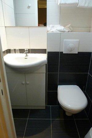 Hotel du Midi :                   Renovated bathroom