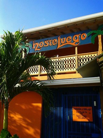 Hosteluego:                   the outside part of the hostel