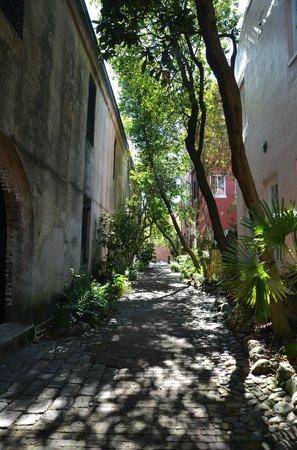 Courtyard Charleston Historic District:                   Philadelphia Alley