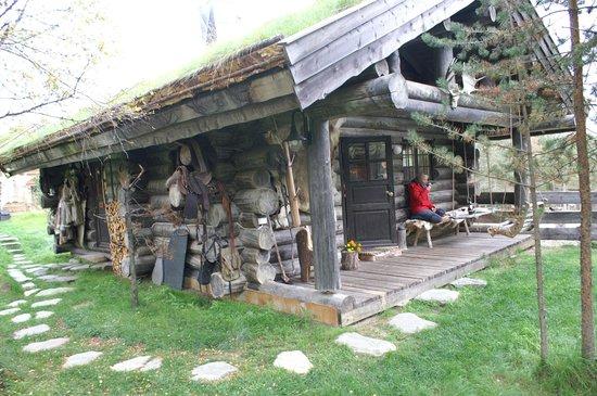 Engholm Husky Design Lodge Karasjok:                   In front of the house.