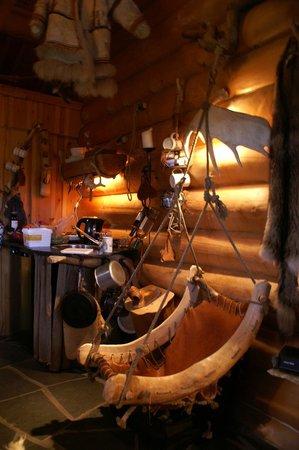 Engholm Husky Design Lodge Karasjok :                   The inside is also mostly from wood.