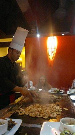 Grand Palladium Imbassaí Resort & Spa:                   El restaurante japonés del hotel