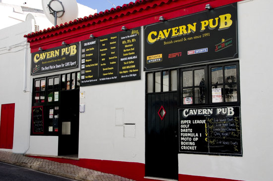 Cavern Pub Albufeira Portugal