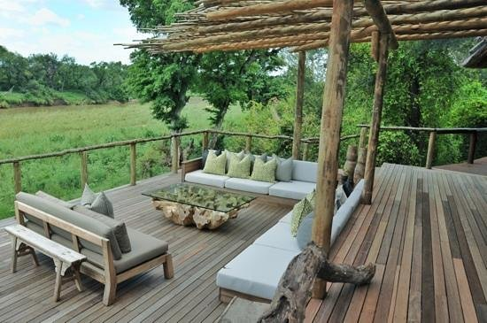 Lion Sands - Tinga Lodge:                   Pure relaxation!