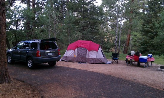 North Rim Campground:                   Campsite  009