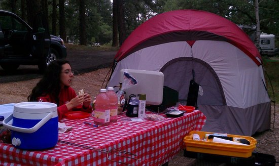 North Rim Campground:                   campground