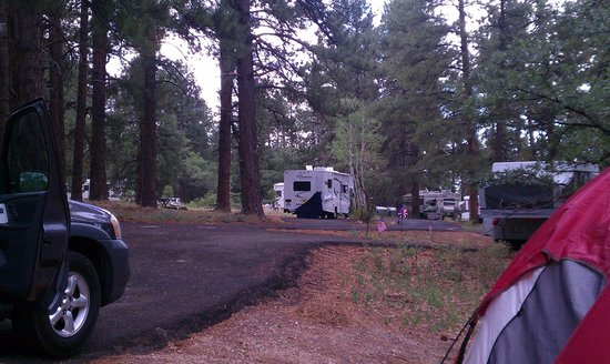 North Rim Campground:                   Another campground view