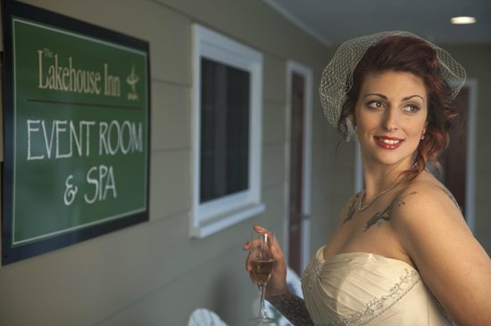 The Spa at The Lakehouse Inn: Bridal Packages available