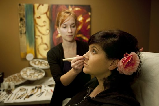 The Spa at The Lakehouse Inn: Make-up applications available featuring Jane Iredale Cosmetics