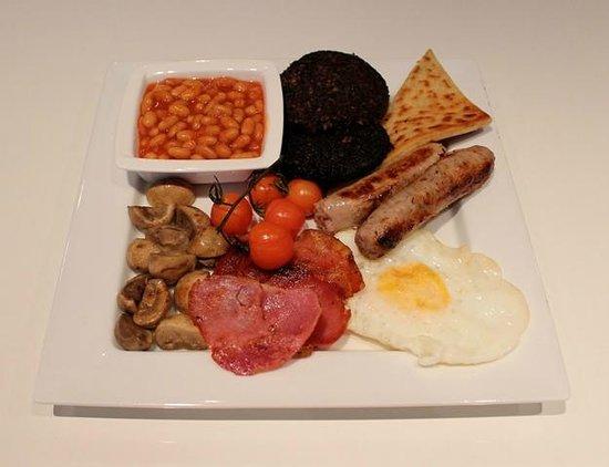 Etruria Townhouse B&B: Full Scottish Breakfast