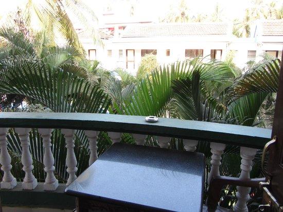 Hotel Villa Theresa:                   Балкон