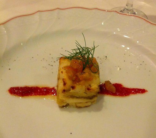 Ristorante Belvedere:                   lasagnetta di melanzane - Belvedere