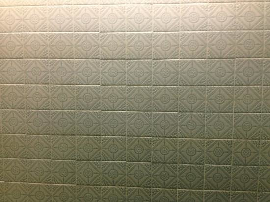 Chateau Impney Hotel & Exhibition Centre:                   wall tiling
