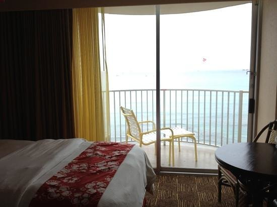 Aston Waikiki Beach Hotel:                   great view