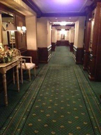 Dahlmann Campus Inn:                   Elegant and charming hallway!