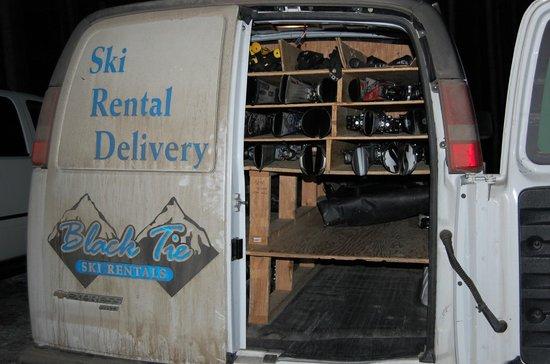 Black Tie Ski Rentals of Breckenridge:                   Black Tie comes ready for all your needs.