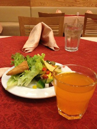 Coral Sea Aqua Club Resort:                   Salad from the buffet