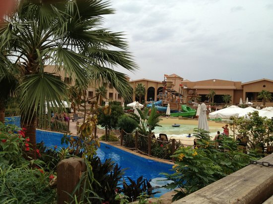 Coral Sea Aqua Club Resort:                   View of some of lazy river and wave pool