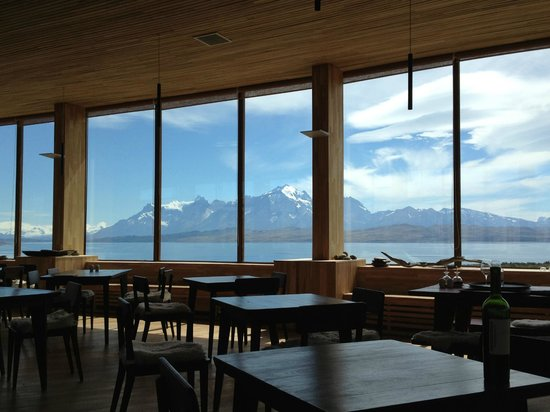Tierra Patagonia Hotel & Spa:                   view from the dining room