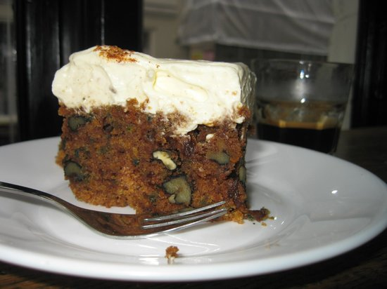 The Living Room : A popular cake in Denmark: Carrot cake