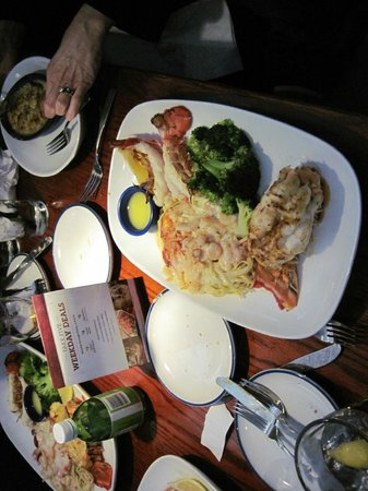 Red Lobster: Lobster special with scampi