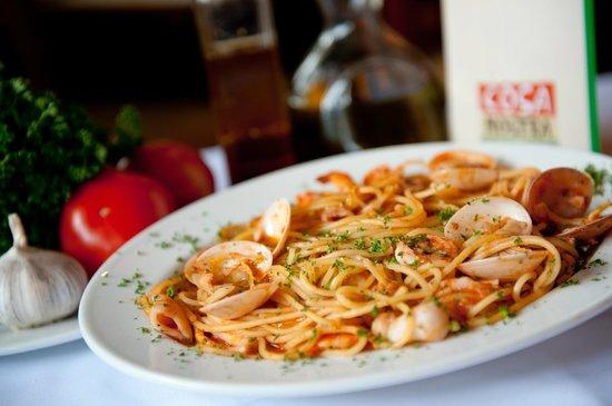 Cosa Nostra Trattoria Pizzeria: Spaghetti frutti di mare