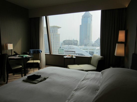 The Okura Prestige Bangkok:                   View from my room