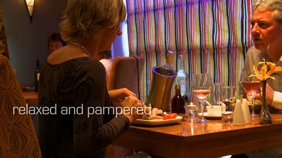 The Britannia Inn: Intimate dining in Waves Restaurant
