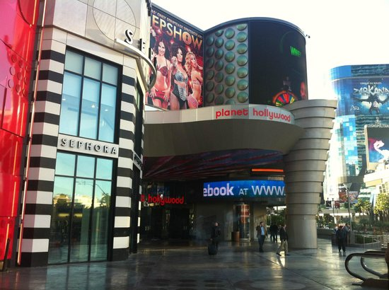 Planet Hollywood Resort & Casino:                   Outside of front entrance