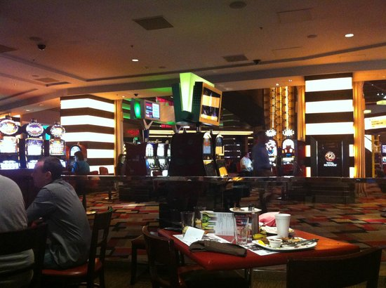 Planet Hollywood Resort & Casino:                   Casino area