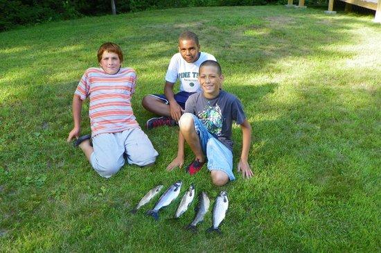 Fishin' 4 Fun: A day's catch with Fishin' 4 Fun