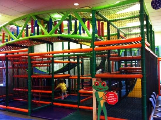 Marriott's Grande Vista:                   kids maze!!