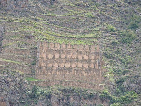 Ollantaytambo, Peru:                   Other Inca ruins in the valley are all around