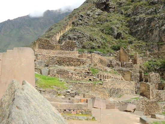 Ollantaytambo, Peru:                   Acropolis
