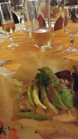 Restaurant Les trois Lys : la sauce était vraiment très bonne